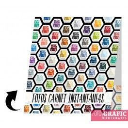 Carteritas de carnet xl+7x10 (Paqete 100 unidades)